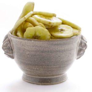 banane chips en rondelle bio équitable