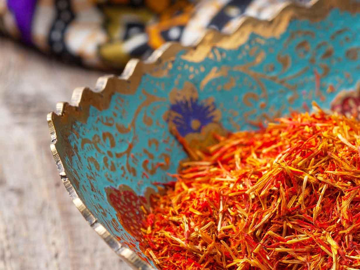 safran récolte maroc taliouine