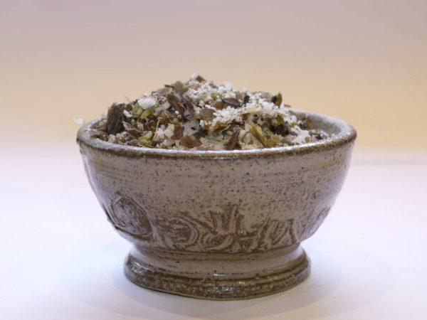 Fleur de sel aux algues Dulse laitue de mer Nori