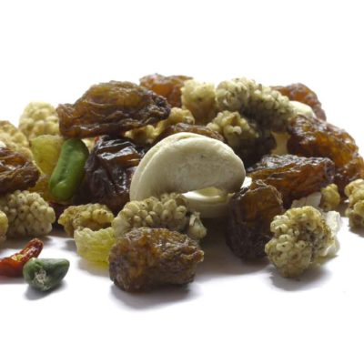 Mélange de fruits secs Tibet tibétain mullberry goji raisins pistache