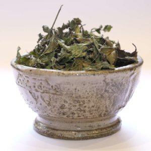 Feuilles de menthe poivrée bio sauce thé maroc