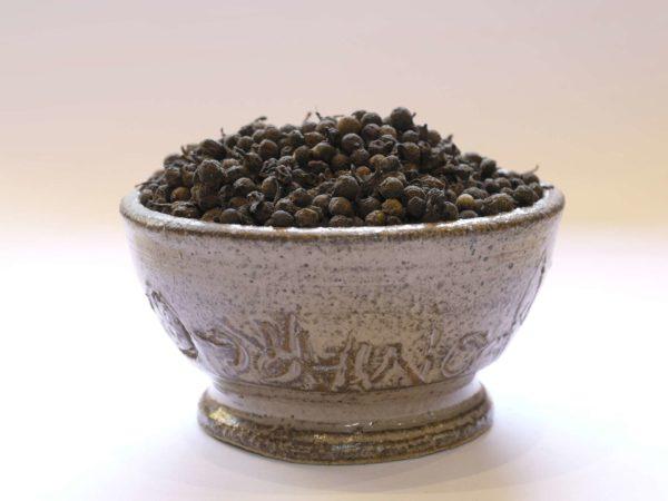 Poivre noir du Congo poivre Likouala, poivre Ketshu, poivre des gorilles, poivre de Centrafrique, poivre du Congo