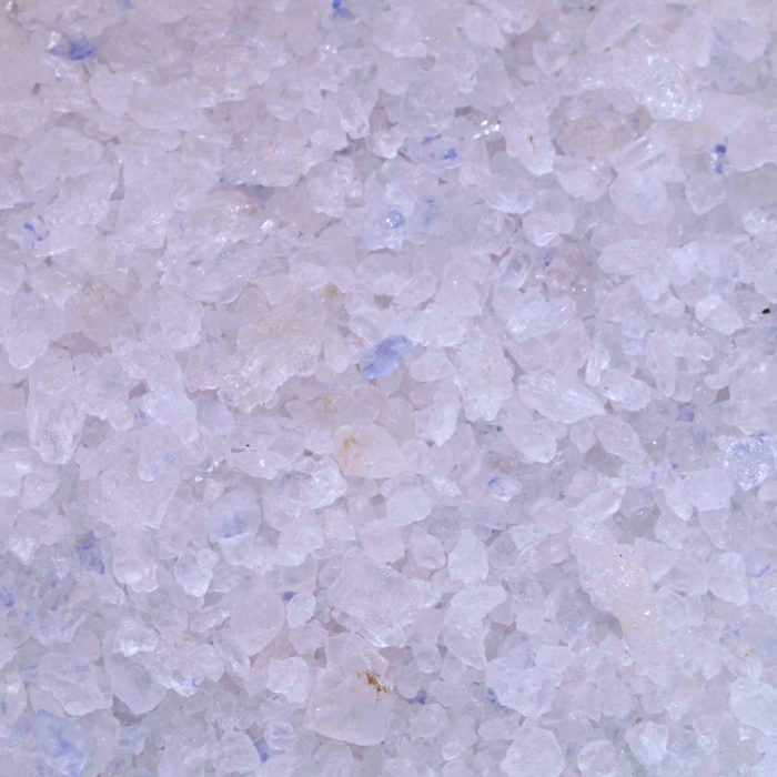 Sel Bleu Perse cristaux montagne sylvinite saphir Semman iran