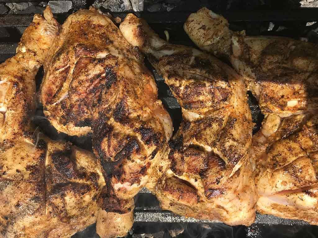 Poulet aux épices barbecue US