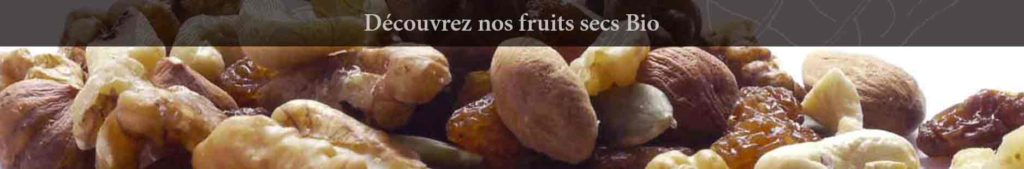 Fruits secs et mélanges de fruits secs
