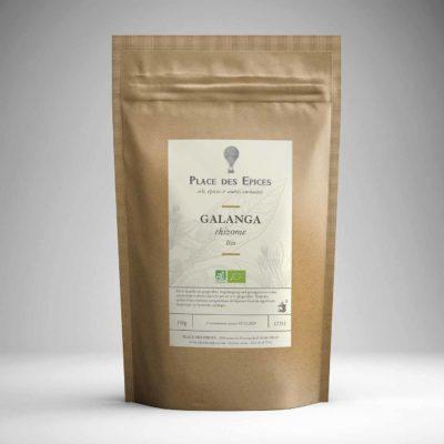 Galanga coupe bio Curry Ras el Hanout Garam Masala