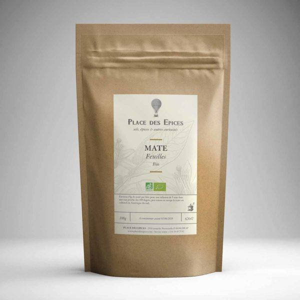 Maté bio Chili Cordilière Andes café energie tonique