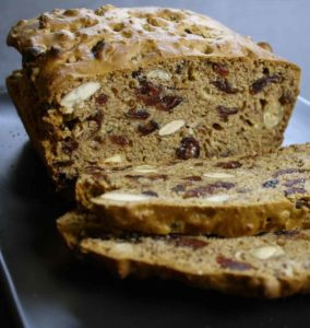 breadcake endurance cookie gingembre canneberge