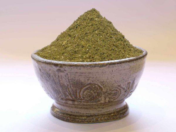 curry vert très faiblement piquant